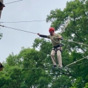 Brady Rourke on High Ropes