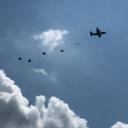 Airborne School Drop Photo- Ruiz
