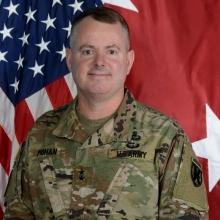 Major General Chris Mohan