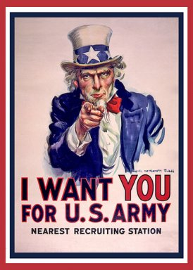 I Want You for the US Army iconic poster