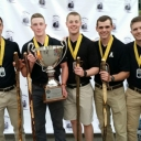 full heavy marathon team with their first place trophy