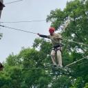 Brady Rourke on High Ropes