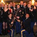 ROTC Pershing Rifles at the formal