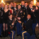 ROTC Pershing Rifles at the formal