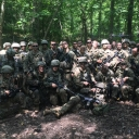 App State Cadet Finegan with his Squad Advance Camp 18
