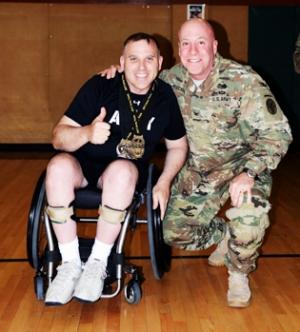 Colonel Danny Dudek and Colonel David Oeschger