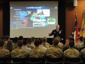 BG Evans Leadership Session